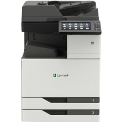 Lexmark CX920 CX921de Laser Multifunction Printer - Color - Copier/Fax/Printer/Scanner - 35 ppm Mono/35 ppm Color Print - 1200 x 1200 dpi Print - Automatic Duplex Print - Upto 200000 Pages Monthly - 1150 sheets Input