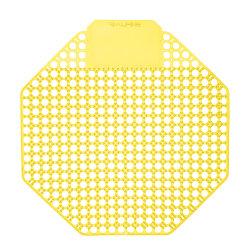 "Alpine Urinal Screens, Mango Scent, 7-1/16"", Pack Of 10 Urinal Screens"