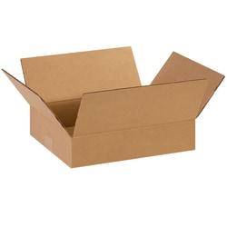 "Office Depot® Brand Corrugated Cartons, 14"" x 11"" x 3"", Kraft, Pack Of 25"