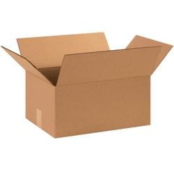 "Office Depot® Brand Corrugated Cartons, 15"" x 11"" x 7"", Kraft, Pack Of 25"
