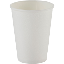 Dixie PerfecTouch Insulated Paper Hot Cups - 10 fl oz - 1000 / Carton - White - Paper - Beverage, Hot Drink