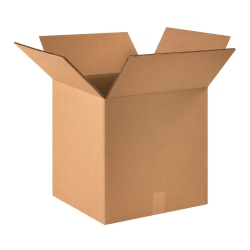 """Office Depot® Brand Double-Wall Heavy-Duty Corrugated Cartons, 16"""" x 16"""" x 16"""", Pack Of 15"""