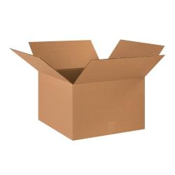 "Office Depot® Brand Heavy-Duty Corrugated Cartons, 18"" x 18"" x 12"", Kraft, Pack Of 25"