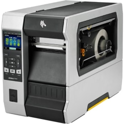 "Zebra ZT610 Direct Thermal/Thermal Transfer Printer - Monochrome - Label Print - 12.50 ft Print Length - 4.09"" Print Width - 14.02 in/s Mono - 203 dpi - Black Mark, Notch, Continuous Label, Die-cut Label - 4.49"" Label Width"