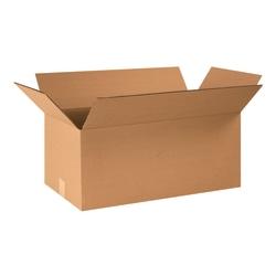 "Office Depot® Brand Corrugated Cartons, 24"" x 12"" x 10"", Kraft, Pack Of 25"