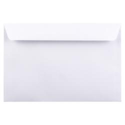 "JAM Paper® Booklet Envelopes With Gummed Closure, #6, 6"" x 9"", White, Pack Of 50 Envelopes"