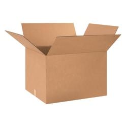 "Office Depot® Brand Corrugated Cartons, 24"" x 20"" x 16"", Kraft, Pack Of 10"