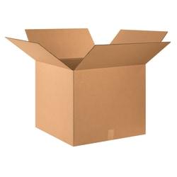 "Office Depot® Brand Corrugated Cartons, 24"" x 24"" x 20"", Kraft, Pack Of 10"