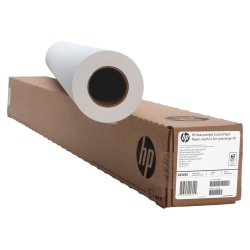"""HP C6569C Heavyweight Coated Wide Format Roll, 42"""" x 100', 35 Lb"""