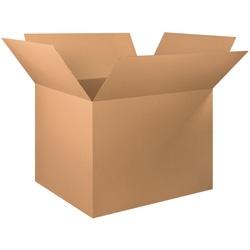 "Office Depot® Brand Corrugated Cartons, 48"" x 40"" x 36"", Kraft, Pack Of 5"