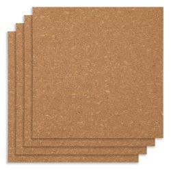 """Office Depot® Brand Cork Wall Tiles, 12"""" x 12"""", Pack Of 4 Tiles"""