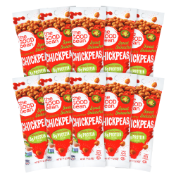 The Good Bean Chickpeas, Sweet Sriracha, 1.4 Oz, Pack Of 10 Bags
