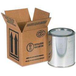 "Office Depot® Brand Hazardous Materials Corrugated Cartons, 1 Quart, 4 7/16"" x 4 7/16"" x 5"", Pack Of 25"