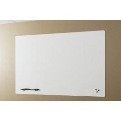 "Best-Rite® Elemental Magnetic Dry-Erase White Board, Porcelain Steel, 18""H x 24""W, Frameless"