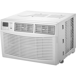 "Amana Energy Star Window-Mounted Air Conditioner With Remote, 6,000 BTU, 13 5/16""H x 18 5/8""W x 15 5/8""D, White"