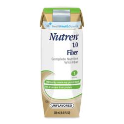Nestlé Nutritional Nutren® 1.0 Fiber, Vanilla, 8.45 Oz (250ml)