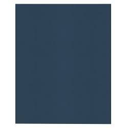 Office Depot® Brand 2-Pocket Textured Paper Folders, Dark Blue, Pack Of 25