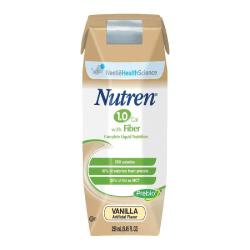 Nestlé Nutritional Nutren® 1.0, Vanilla, 8.45 Oz (250ml)