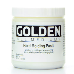 Golden Molding Paste, Hard, 8 Oz