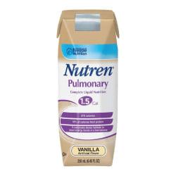 Nestlé Nutritional Nutren® Pulmonary, Vanilla, 8.45 Oz (250ml)