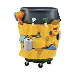 "Rubbermaid® Brute® Caddy Bag, 20 1/2""H x 20""W, Yellow"