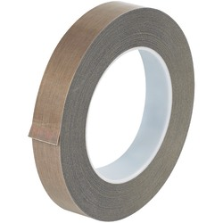 """Office Depot® Brand PTFE Glass Cloth Tape, 3 Mils, 3"""" Core, 0.75"""" x 108', Brown"""