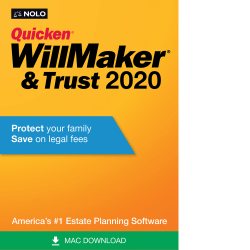 Nolo Quicken WillMaker & Trust 2020 (Mac)