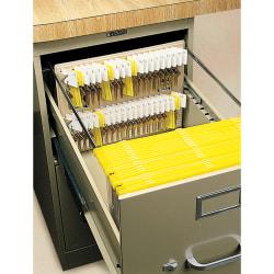 STEELMASTER® File Drawer Key Rack, Sand