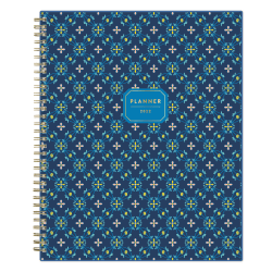 """Blue Sky™ Clear Weekly/Monthly Planner, 8-1/2"""" x 11"""", McKenna, January To December 2022, 132795"""
