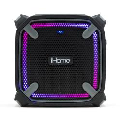 iHome Weather-Tough IBT371BGC Bluetooth® Portable Speaker, Black/Gray