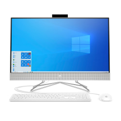 "HP 27-dp0016 All-In-One PC, 27"" Screen, AMD Ryzen™ 5, 8GB Memory, 1TB Hard Drive, Windows® 10, 9EE10AA#ABA"