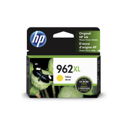 HP 962XL High Yield Original Ink Cartridge, Yellow (3JA02AN)