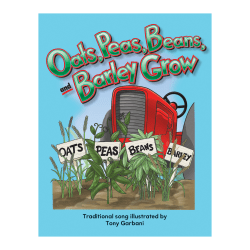 Teacher Created Materials Big Book, Oats Peas Beans and Barley Grow, Pre-K - Grade 1