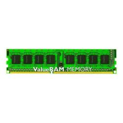 Kingston ValueRAM 4GB DDR3 SDRAM Memory Module - For Desktop PC - 4 GB - DDR3-1600/PC3-12800 DDR3 SDRAM - CL11 - 1.50 V - Non-ECC - Unbuffered - 240-pin - DIMM