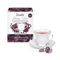 Dualit And Nespresso® Compatible NX Tea Capsules, Black Current, 7 Oz, Carton Of 60