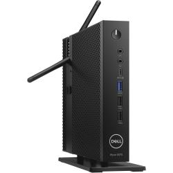 Wyse 5000 5070 Thin Client - Intel Celeron J4105 Quad-core (4 Core) 1.50 GHz - 4 GB RAM DDR4 SDRAM - 16 GB Flash - Gigabit Ethernet - Wyse Thin OS (English) - DisplayPort - Network (RJ-45) - 10 Total USB Ports