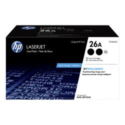 HP 26A Black Dual LaserJet Toner Cartridge