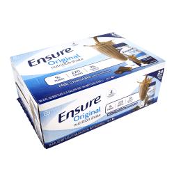 Ensure Original Nutrition Shakes, Milk Chocolate, 8 Oz, Pack Of 24