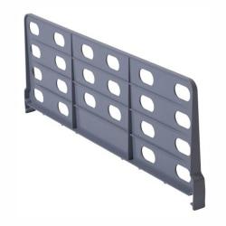 "Cambro Plastic Shelf Divider For 24""W Camshelving, 8"" x 24"", Gray"