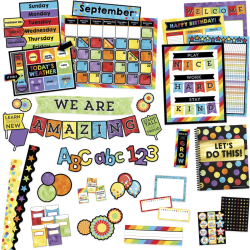 Carson Dellosa Education Celebrate Learning Variety Decor Set - Theme/Subject: Learning - Skill Learning: Chart, Decoration - 1544 Pieces