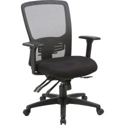 Lorell® High-Back Mesh Chair, Black