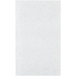 "Office Depot® Brand Flush-Cut Foam Pouches, 3"" x 5"", White, Case Of 500"