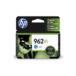 HP 962XL High Yield Original Ink Cartridge, Cyan (3JA00AN)