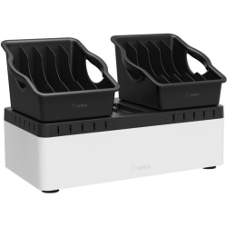 Belkin Store and Charge Go With Portable Trays - Wired - Tablet, Notebook, Smartphone, iPad - Charging Capability