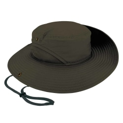 Ergodyne Chill-Its 8936 Lightweight Ranger Hat With Mesh Paneling, Large/X-Large, Olive
