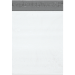"""Office Depot® Brand Expansion Poly Mailers, 13""""H x 16""""W x 2""""D, White, Case Of 100"""