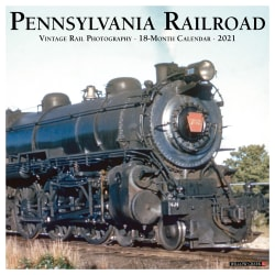 "Willow Creek Press Hobbies Monthly Wall Calendar, 12"" x 12"", FSC® Certified, Pennsylvania Railroad, January to December 2021, 12949"