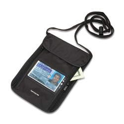 Samsonite® RFID Neck Pouch, Black