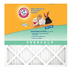 "Arm & Hammer Enhanced Pet Fresh Air Filters, 24""H x 14""W x 1""D, Pack Of 4 Filters"