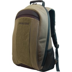 """Mobile Edge 17.3"""" Canvas Eco-Backpack Olive"""